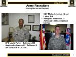 army recruiters going above and beyond