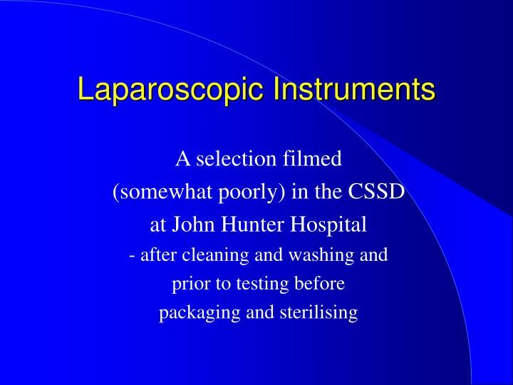 Laparoscopic Instruments