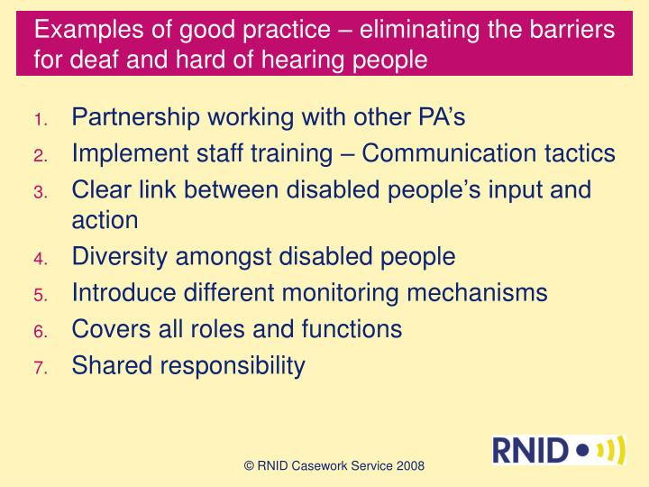 identify the barriers to the application of evidence to practice