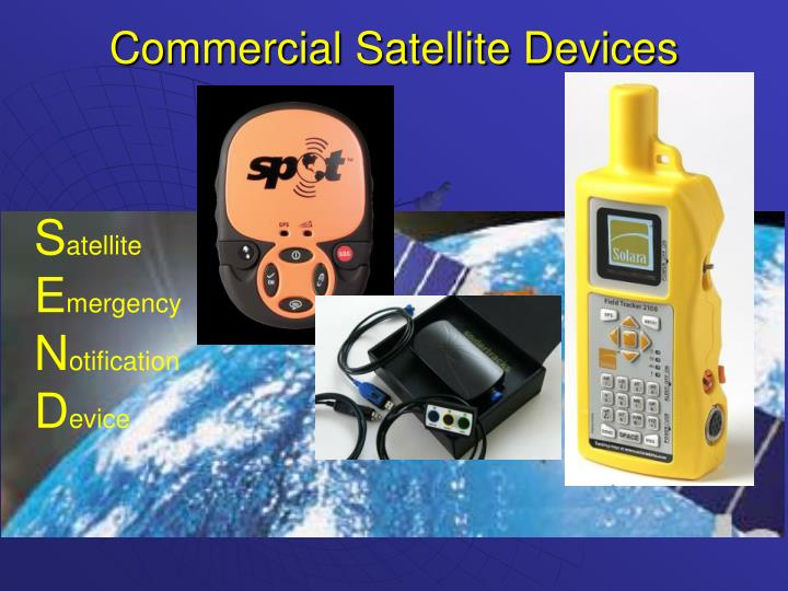 Commercial satellite devices