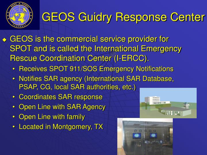 GEOS Guidry Response Center