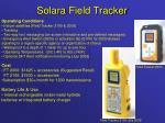solara field tracker