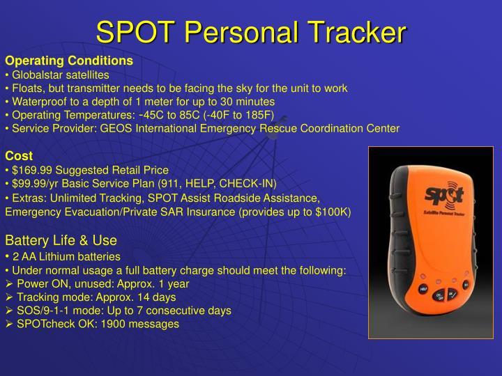 SPOT Personal Tracker