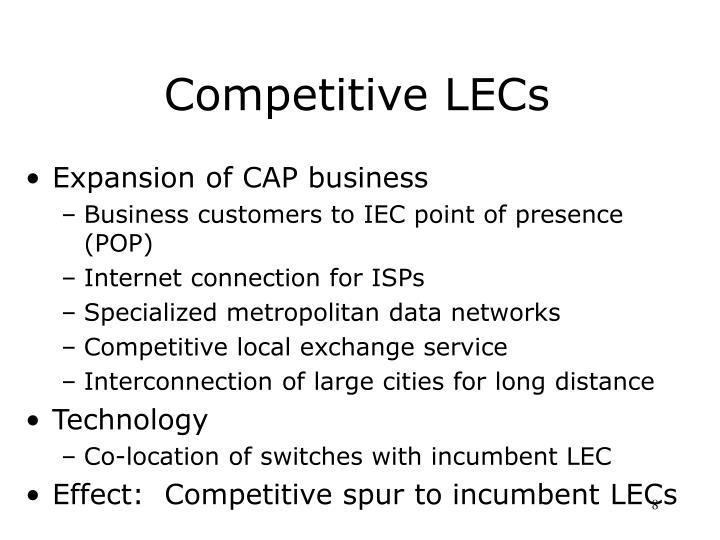 Competitive LECs