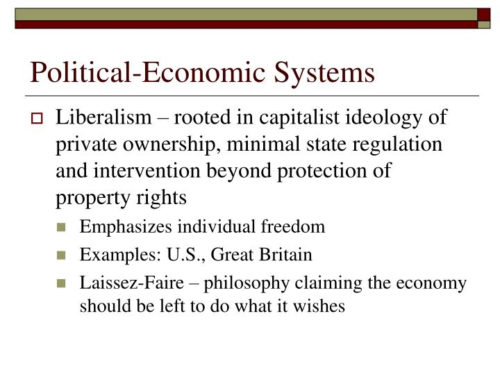 Ppt The Political Economy Powerpoint Presentation Id1429998