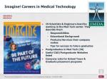 imagine careers in medical technology