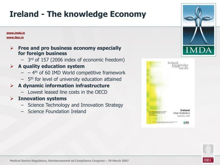 Ireland - The knowledge Economy