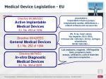 medical device legislation eu