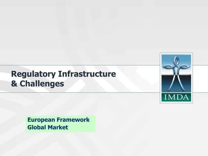 Regulatory Infrastructure