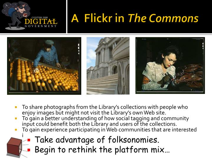A  Flickr in