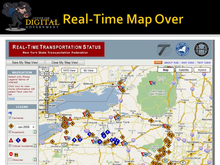 Real-Time Map Over