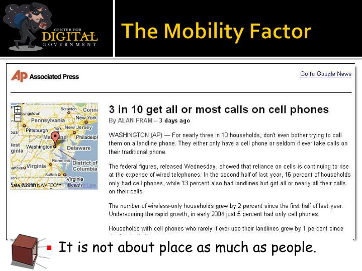The Mobility Factor