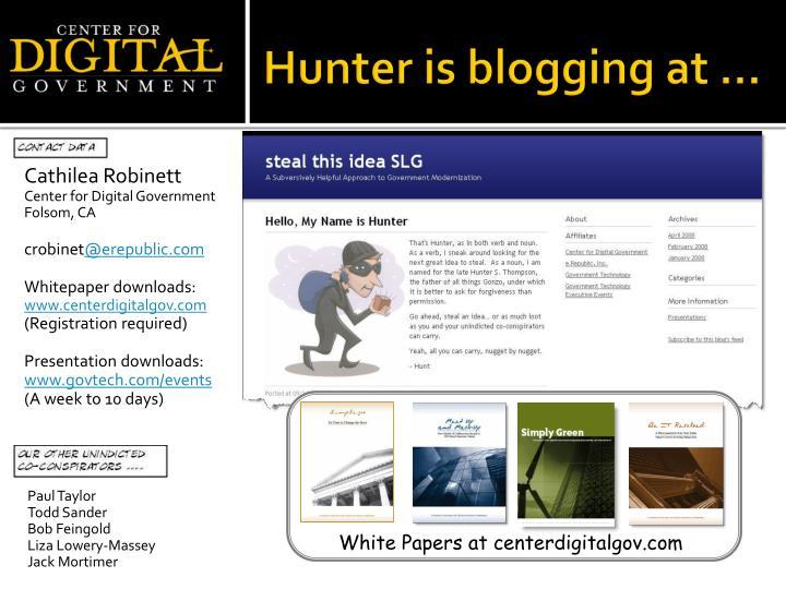 White Papers at centerdigitalgov.com