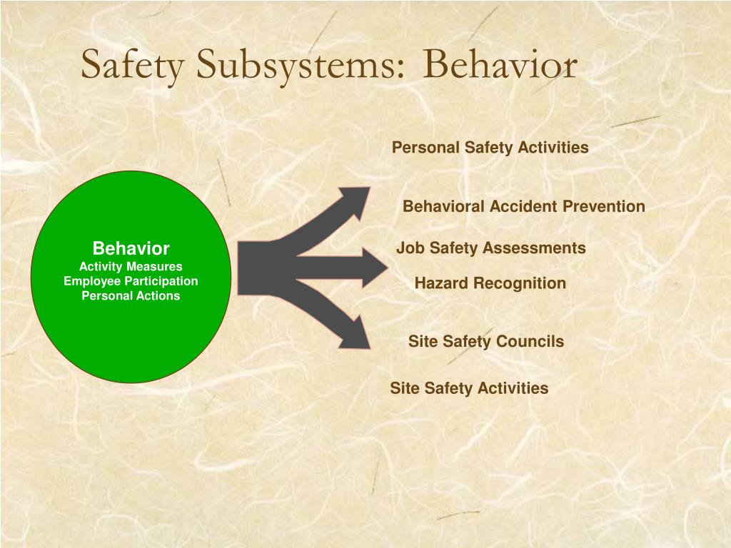 Safety Subsystems: