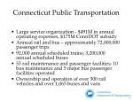 connecticut public transportation