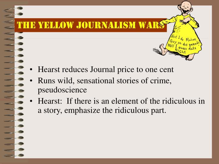 The Yellow Journalism Wars
