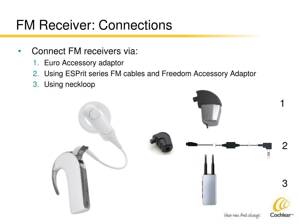 FM Receiver: Connections