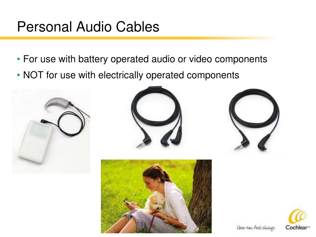 Personal Audio Cables