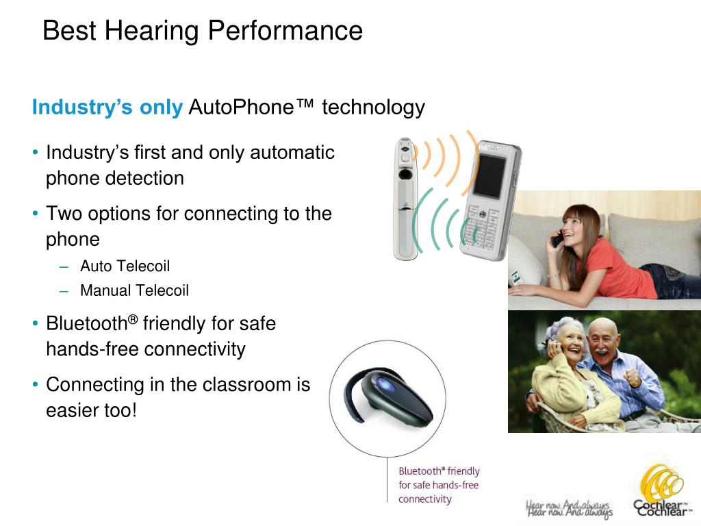 Industry's first and only automatic phone detection
