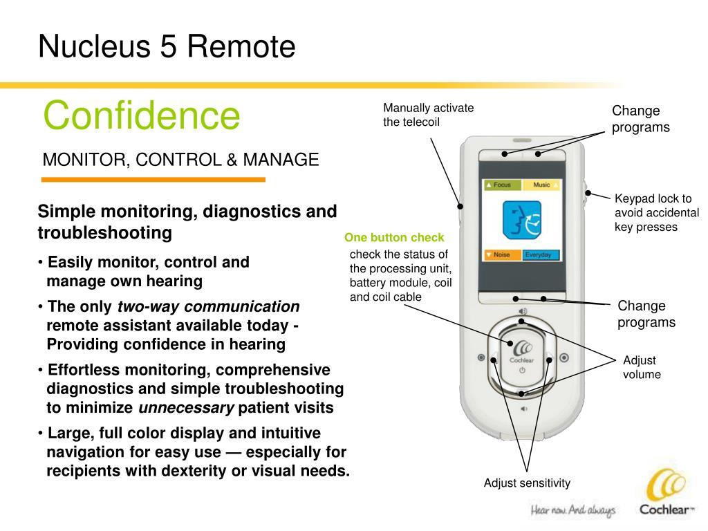 Nucleus 5 Remote