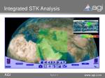 integrated stk analysis