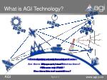 what is agi technology