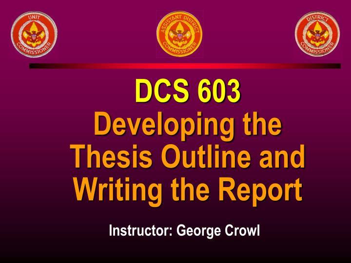DCS 603