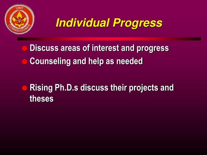Individual Progress
