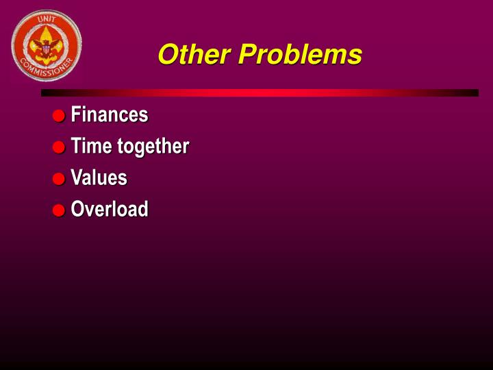 Other Problems