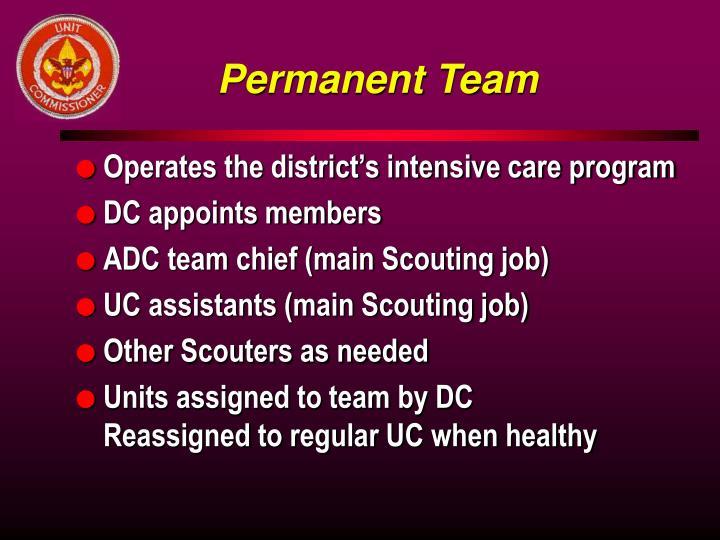 Permanent Team