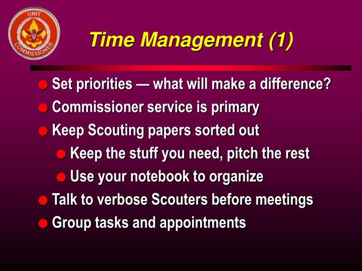 Time Management (1)