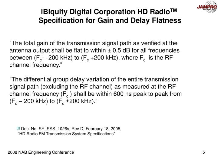 iBiquity Digital Corporation HD Radio