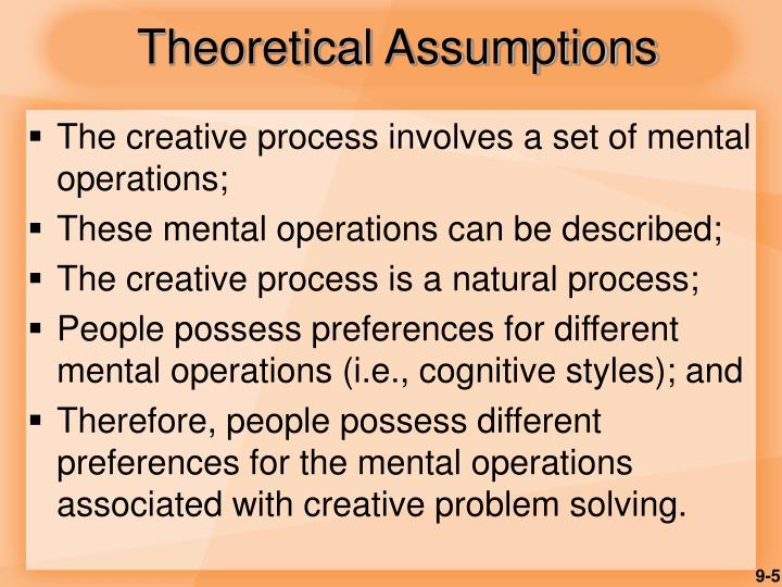 Theoretical Assumptions