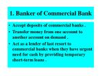 1 banker of commercial bank