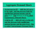 aggregate demand shock