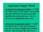 aggregate supply shock
