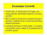 economic growth130