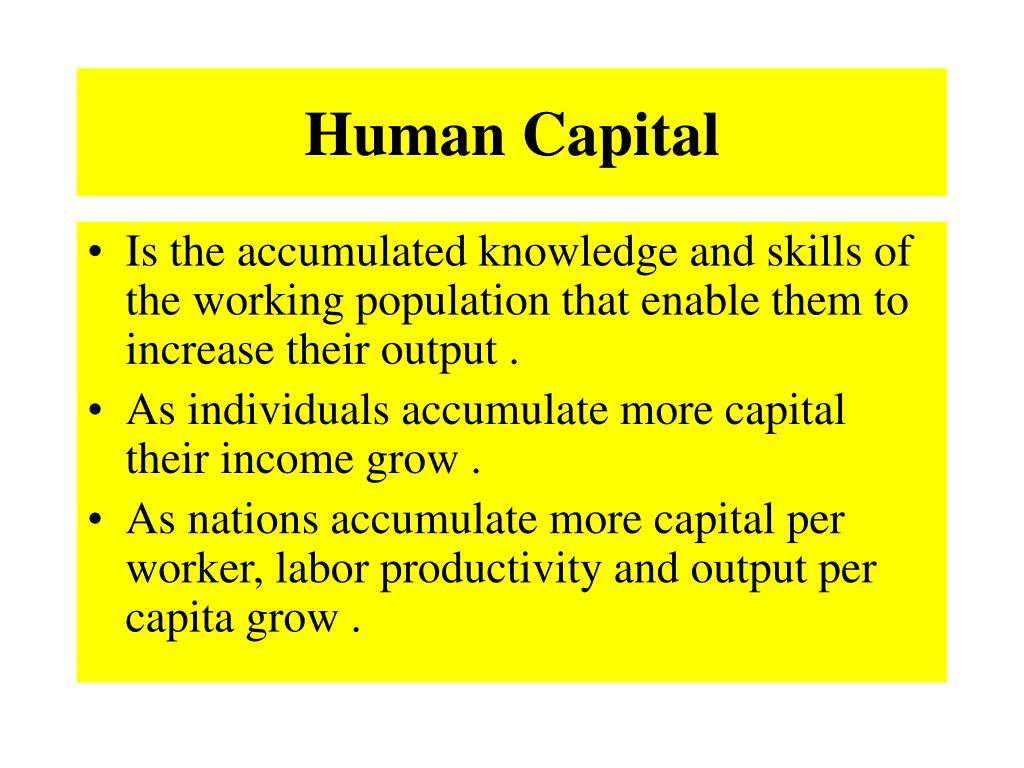 Human Capital
