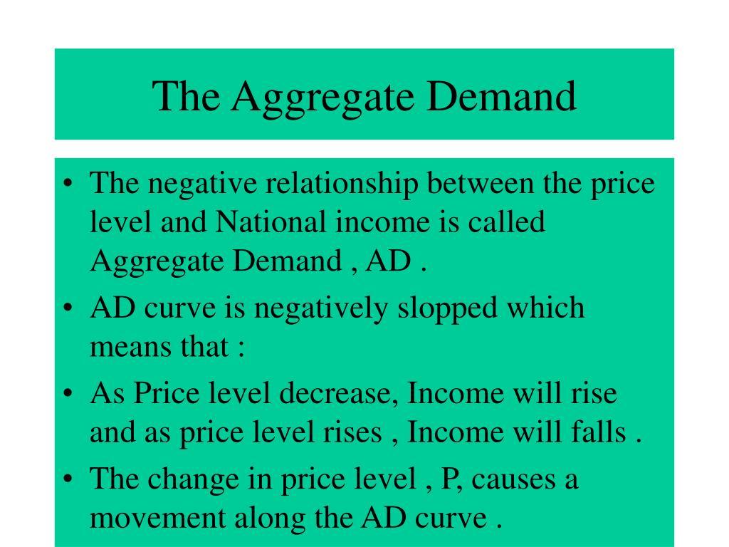 The Aggregate Demand