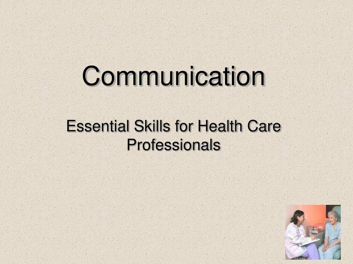 communication channels for health care communication