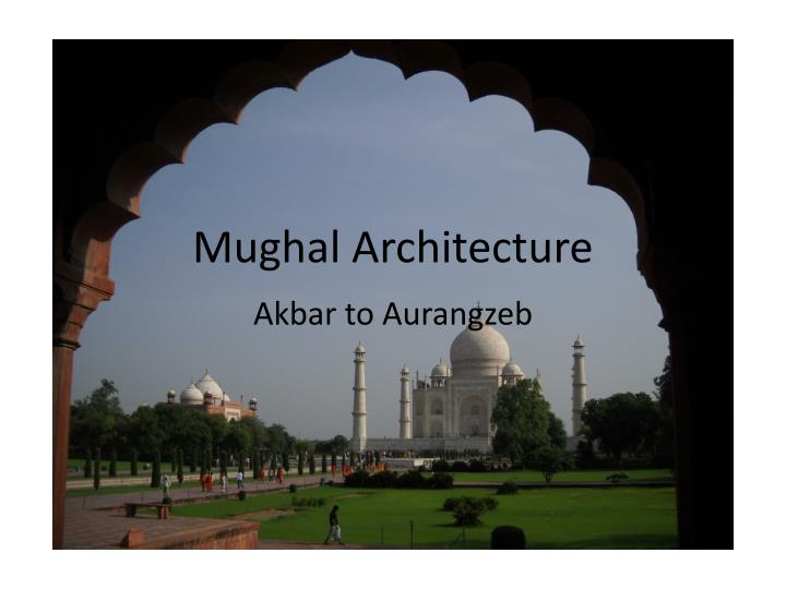 mughal architecture n.