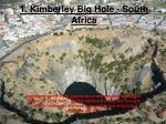 1 kimberley big hole south africa