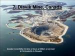 7 diavik mine canada