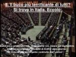 8 il buco pi terrificante di tutti si trova in italia eccolo