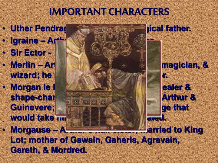 an analysis of the importance of merlin in arthurian mythology In its own analysis, the arthurian legend holds much in way of importance to british literature: the arthurian legend is often referred to as 'the matter of britain,' and many critics consider it.