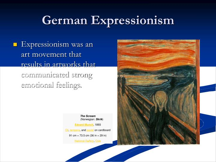 German Expressionism