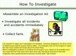 how to investigate10