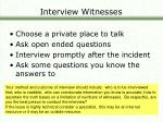 interview witnesses24
