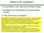 what is an accident5