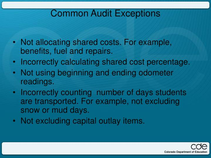 Not allocating shared costs. For example, benefits, fuel and repairs.